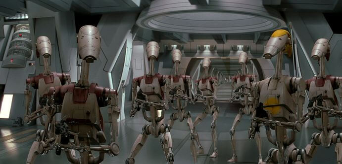 FOTO: Battle Droids (Star Wars)