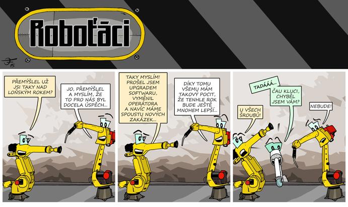 Roboťáci #6: Už je tady zase