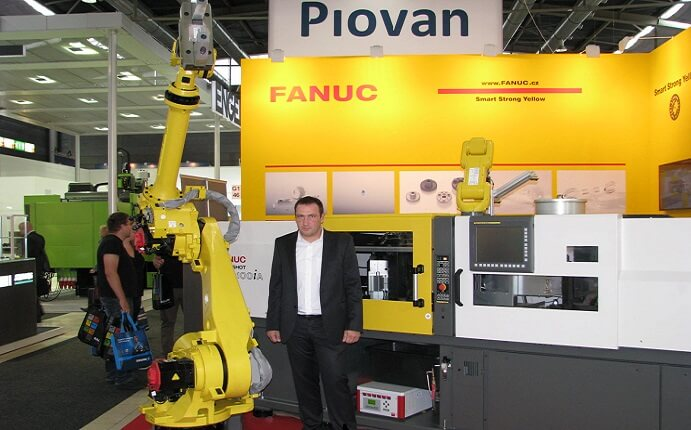 FOTO: Sales Engineer z Fanuc Czech