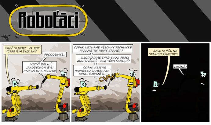 Roboťáci #20: Vyhozené pojistky